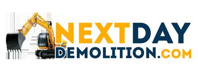 Next Day Demolition Allen Texas Logo